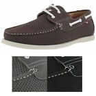 Phat Farm Perforated Men's Boat Shoes Loafers