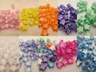 50 - 13mm Pearl Star Pony Beads Made In USA - Color choice