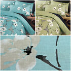 Oriental Floral Duvet Cover Set Luxury Poly Cotton Bedding Bed Quilt Cover Sets