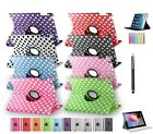 New 360 Degree Rotating Smart Cover Stand Leather Case for Apple iPad 2/3/4