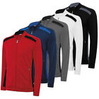 *50% OFF * Adidas Climawarm+ 3 Stripes Performance Mens Golf Fleece Wind Jacket