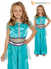 Girls Arabian Princess Jasmine Costume Aladdin Fancy Dress Fairytale Book Week