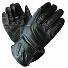 ARCTIC Leather Waterproof Thermal Winter Motorcycle Motorbike Gloves Black Artic