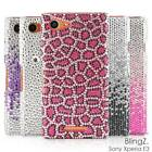 Crystal Bling Bling Diamond Rhinestone Phone Case Cover for Sony Xperia E3