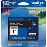 "Brother TZ355 TZe355 24mm 1"" inch white on black TZ tape PT520 PT2430 P-Touch"
