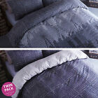 Catherine Lansfield Twin Pack Single Double King Duvet Quilt Cover Bedding Set