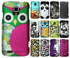 For ZTE Rapido Z932C Rubberized HARD Protector Case Snap On Phone Cover