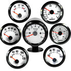 "2"" 52mm VEHICLE POINTER BOOST WATER TEMP OIL TEMP OIL PRESSURE TACHO VOLT GAUGE"