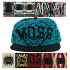 Moss Streetwear Clothing Brand New York Men's Strapback Hat