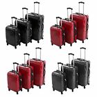 Hard Shell 4 Wheel Spinner Lightweight ABS/PC Trolley Suitcase Luggage 3 Pcs Set