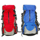 45L+5L Heavy Duty Hiking Camping Travel Waterproof Backpack Shoulders Bag New