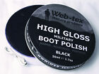 Web-Tex Military Shoe/Boot Polish Army Parade Gloss Shine Black/Brown