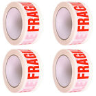 48mm X 66m FRAGILE PRINTED STRONG PARCEL TAPE PACKAGING BIG ROLL MULTILISTING