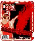 Womens Adult Roaring 20s Red Flapper Costume Headband & Plume Accessory