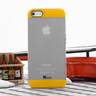 For iPhone 5 SE 5S Ultra Thin Transparent Crystal Clear Hard TPU Case Cover