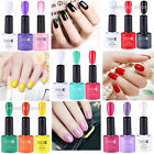 3Colors LED UV Lamp Cured Gel Polish+Glitter Rhinestone Decoration Nail Art Set