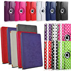 Premium PU Leather Case Stand Cover For Apple iPad 5 Air Free Screen Protector