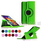 For SM-T330 Samsung Galaxy Tab 4 8.0 Rotating PU Leather Smart Case Stand Cover