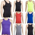 7 Colors Men Gym Sports Running Training Vest Athletic Shirt Tanks Tops New A17