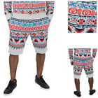 Moss New York Men's Moztec Aztec Jogging Shorts Joggers