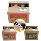 Lovely Cat Panda Itazura Kitty Cat Steal Coin Automated Savings Box Piggy Bank