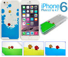 Fun Candy Colours Liquid Fish Aquarium Case Cover Apple iPhone 6 4.7 6 Plus 5.5