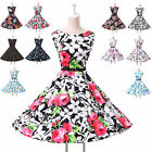 2015 Retro Swing 50s 60s Rockabilly Vintage Full Circle Prom Evening Party Dress