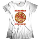 LIKE PIZZA MORE THAN I LIKE PEOPLE GIRLIE T-Shirt FAST FOOD PORN HIPSTER NERDS