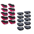 10 PCs Golf Club Iron Putter Head Cover HeadCovers Protective Case Set Neoprene