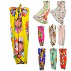 Stylish Lady Women Butterfly Sunflower Long Wrap Shawl Chiffon Scarf WJ0152