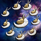 """2015 Chic Family """"I LOVE YOU TO THE MOON AND BACK """" Necklace Pendant For Gift"""