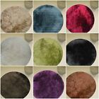 Thick Luxurious Soft Circle Shaggy Rug High End Anti Shed Shag Pile Circular Mat