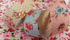 2m Berties Bows Vintage style Floral and polka dot fabric ribbon♥25mm wide♥NEW