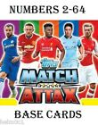 2014/2015 Match Attax  #2-64  Arsenal / Aston Villa / Burnley / Chelsea cards