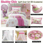 Shabby Chic Quilt Cover Set OR Accessories Jiggle & Giggle SINGLE DOUBLE QUEEN
