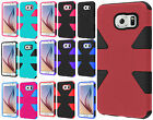 For Samsung Galaxy S6  IMPACT TUFF HYBRID Protector Case Skin Phone Cover
