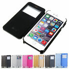 "Luxury Frame Flip Leather Back Case Cover For Apple iPhone 6 4.7""/6 Plus 5.5""New"