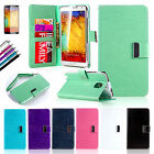 Luxury Leather Flip Wallet Case Cover Stand For Samsung Galaxy Note 3 III N9000