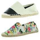 Steve Madden Women's Sonomaa Espadrille Slip On Sneakers Shoes Flats