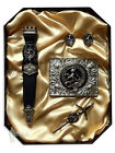 Gift Box - Clan Crest Accessory Set - 100+ Scottish Clans - Names A to D