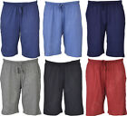 NS2 Mens Twin Pack Jersey Cotton Shorts Pj Plain Size M L & Xl New