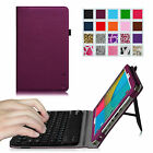 Detachablle Bluetooth Keyboard Leather Cover Case For Dragon Touch M10X 10.1''