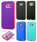 For Samsung Galaxy S6 IMPACT Verge HYBRID Case Skin Phone Cover Accessory