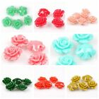 30/150pcs Wholesale Mixed Faux Coral Loose Mini Flowers Beads Charms Fit Jewelry