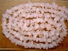 "Rose Quartz 5-8mm Chips Gemstone Beads 35"" /17.5"" strand (Select-A-Size)"