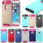 "For Apple iPhone 6 4.7"" Slim Hybrid Shockproof Hard Rugged Heavy Duty Cover Case"