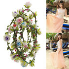 Festival 5Color Boho Floral Solid 6Flowers Hair HeadBand Beach/Party/Wedding Hot