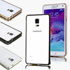 Aluminum Ultra-thin Metal Case Hard Bumper Cover Skin For Samsung Galaxy Note 4