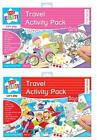 Travel Activity Pack Girls Or Boys Jigsaw Puzzle Word Search Colouring Dominoes