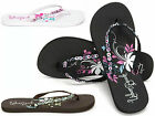 LADIES SPARKEL FLIP FLOPS  UK SIZES 3, 4, 5, 6, 7, 8 BEACH HOLIDAY SANDALS